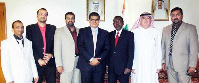 Pride Group Representatives with Ambassador of Embassy of the Republic of Niger
