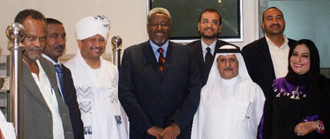 Pride Group Representatives  with Sudan Consular Dubai
