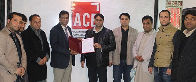 Afghanistan Global Commodity Exchange(AGCXL) Pens MOU with Afghanistan Commercial Bank (ACB) as its Clearing Bank