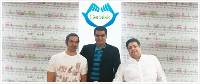 CEO of Pride Group with representatives of Genatak