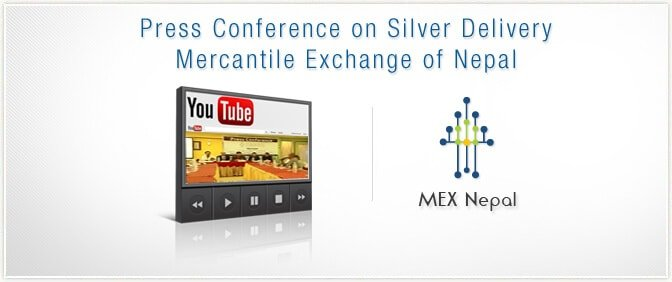 Press Conference on Silver Delivery - Mercantile Exchange of Nepal