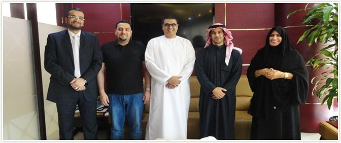 MD of United Interactive in Kuwait visiting Pride Group