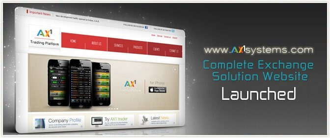 AX1 Website Launched