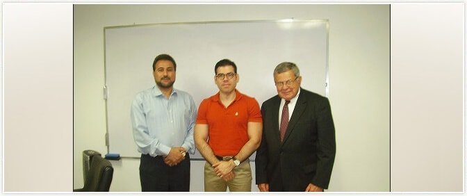 Private Secretary to Honorable President of Nicaragua with Mr.Richard J Kapsch  of Pride Group
