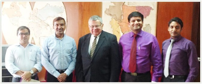 Pride Group Team with Bangladesh Jute Mills Corporation (BJMC) Chairman