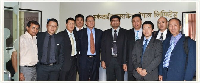Delegates from Royal Securities Exchange of Bhutan Ltd. visited MEX Nepal