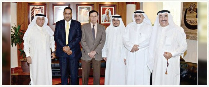 Pride Group Delegates with Hon'ble Minister of Trade, Kingdom of Bahrain