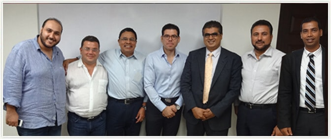 Pride Group CEO with Delegates of various companies in NICARAGUA