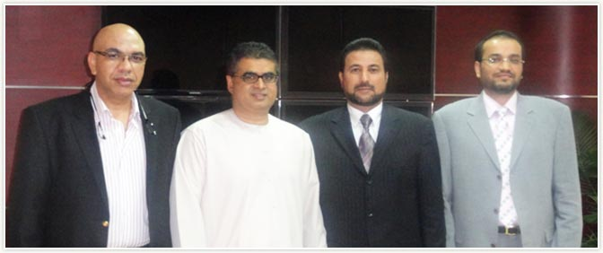 Private Secretary to Honorable President of Nicaragua visited Pride Group Office in Dubai