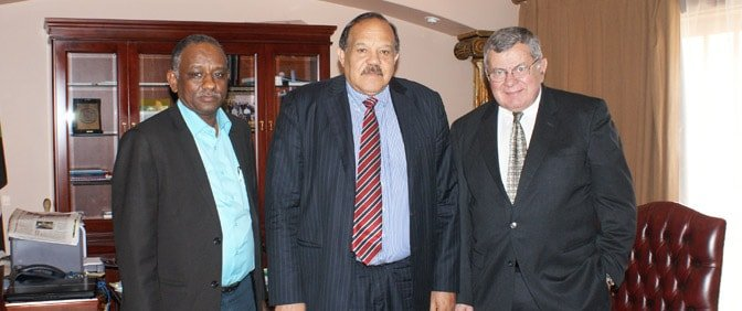 Ambassor of Sudan for South Africa with Pride Group Representatives