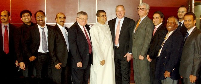 Campus Crest USA Representatives with officials of Pride Group in Dubai