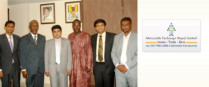 CEO of MEX Nepal with Representatives of Embassy of the Rep. of Mali in India